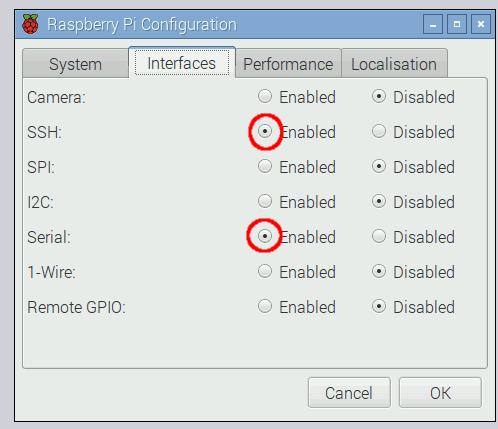 Rasberry Pi Configuration