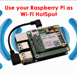 [NEW]Using Sixfab 3G or 4G Raspberry Pi shield as a Wi-Fi Hotspot