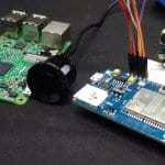Sixfab NB-IoT EVB. with Ultrasonic Sensor