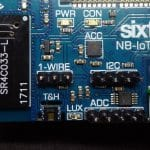 Temperature & Humidity from Sixfab Rapsberry Pi NB-IoT Shield