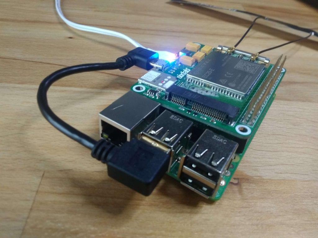 QMI Interface with Sixfab Shields/HATs