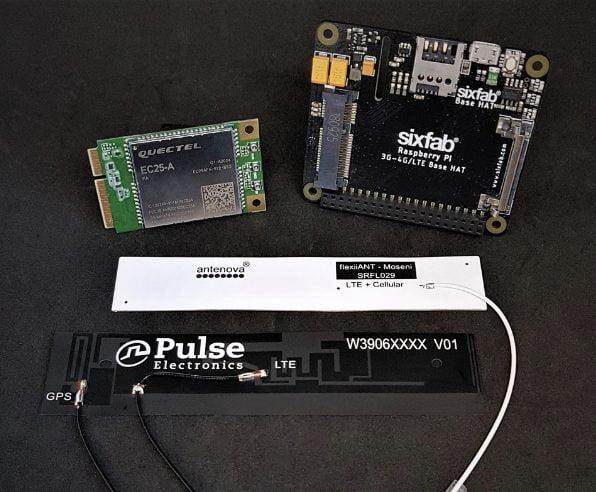 Raspberry Pi 4G/LTE Cellular Modem Kit